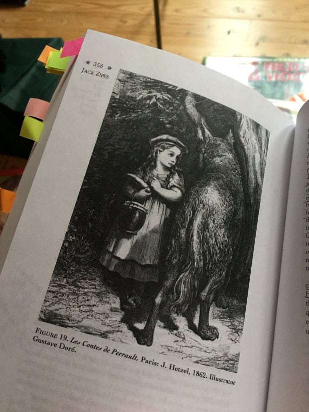 Early version of Little Red Riding Hood