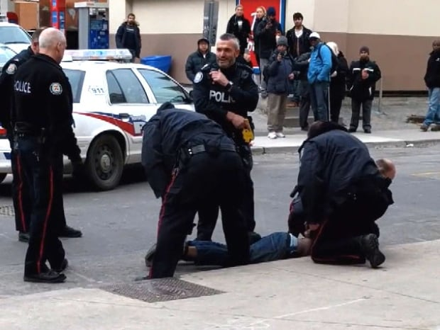Toronto police taser incident