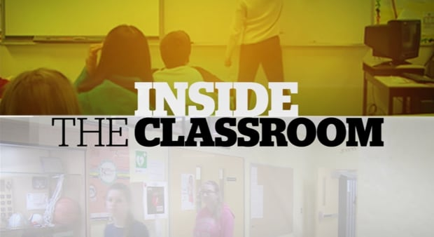 Inside the Classroom title