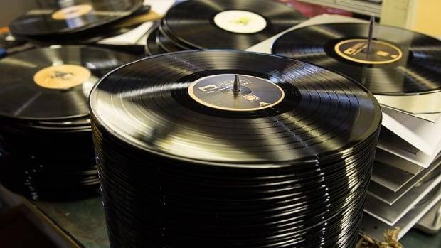 Vinyl records produced at Viryl in Toronto