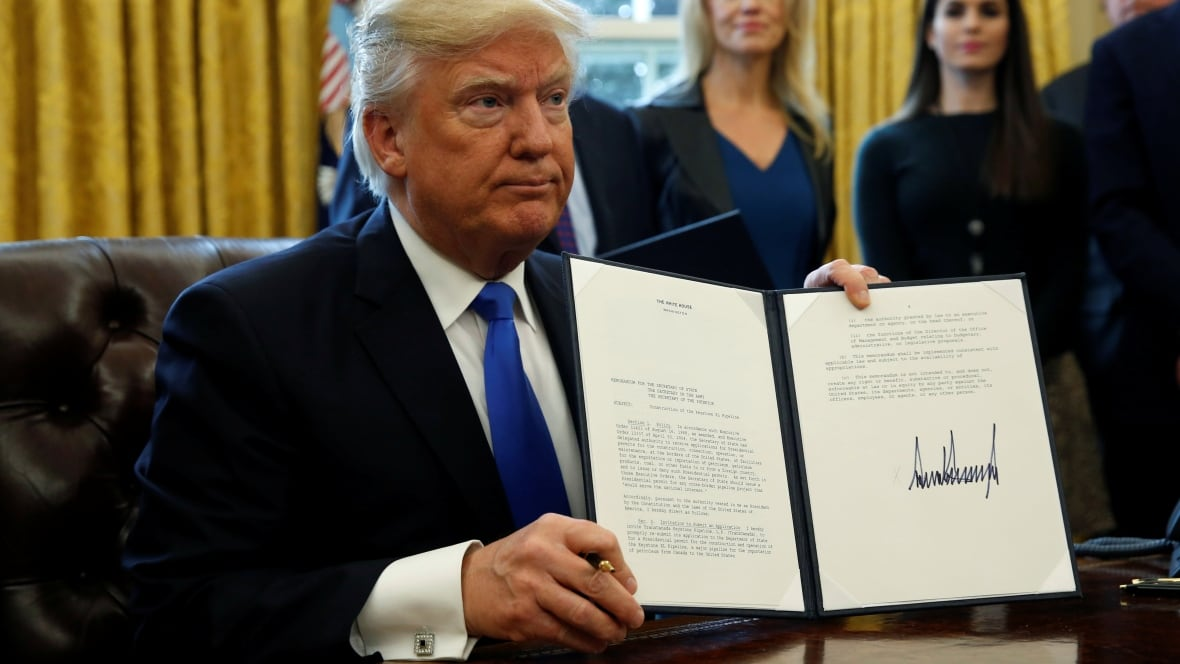 a look at the executive order of the president of the united states The biggest piece of trump's first executive order was the united states of america so did president barack obama but trump's executive order.