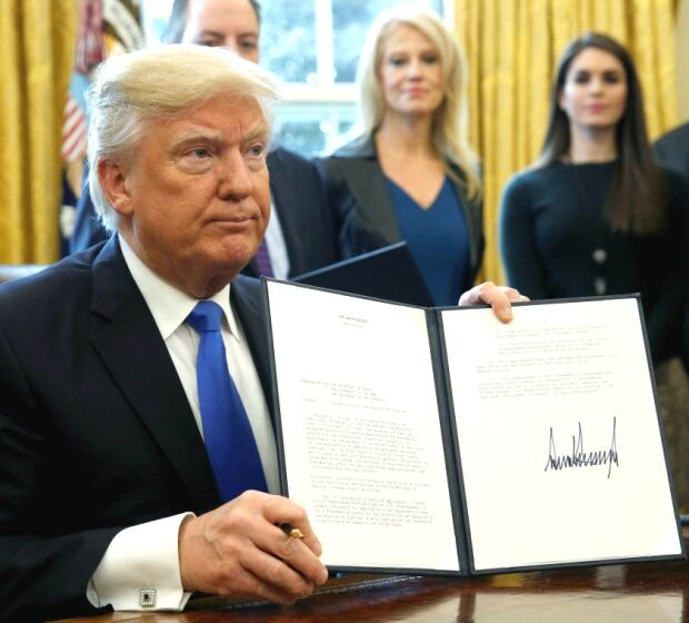 Donald Trump Keystone XL executive order