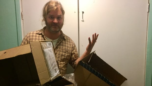CBC reporter John Gaudi wondered what it would take to recycle cardboard boxes that build up over the holidays.