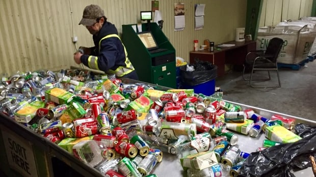 NLers trashed a lot of recycling last year — and a lot of change to go with it