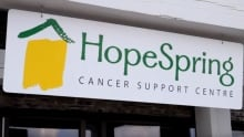HopeSpring Cancer Support Centre sign