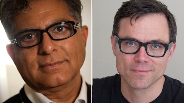 After a heated exchange on social media, authors Deepak Chopra and Timothy Caulfield have made up.