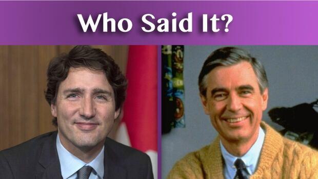 Justin Trudeau Mr. Rogers