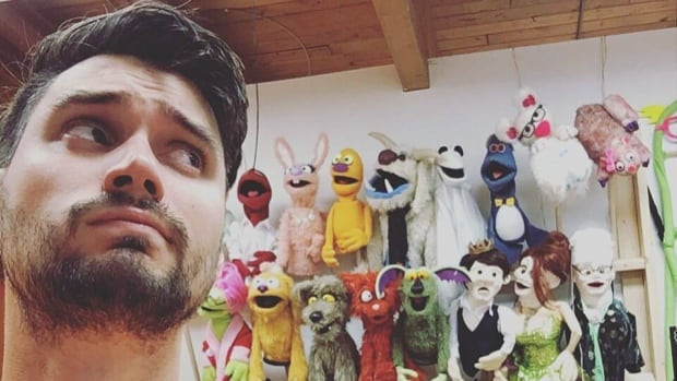 Puppet maker Brendan Boyd is artistic director at Odd-Lot Puppetry Co.