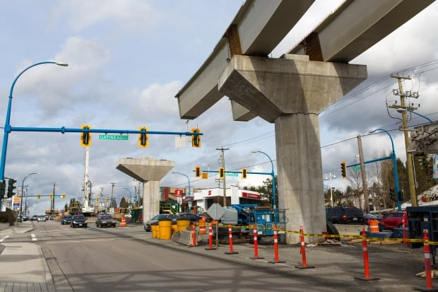 SkyTrain build coquitlam BC