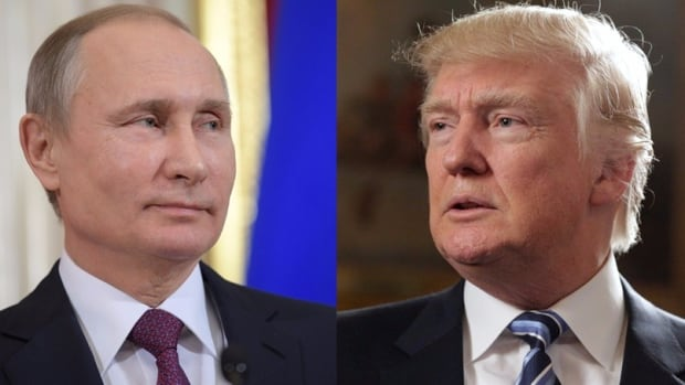 Vladimir Putin and Donald Trump were hopeful they could reset relations between the countries.