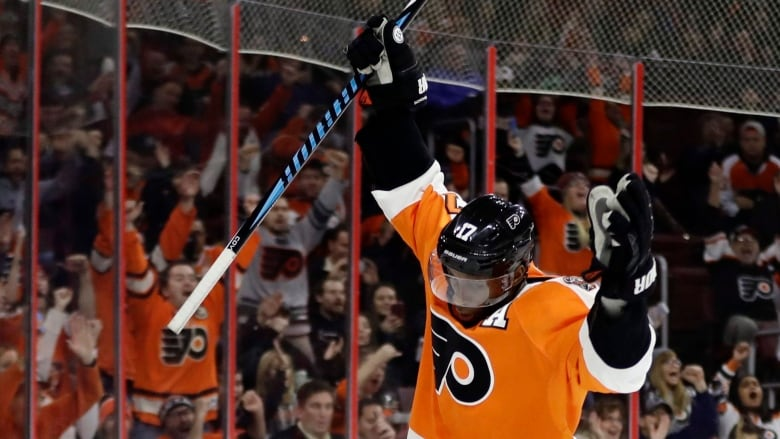 Flyers Wayne Simmonds And His Unlikely Nhl All Star Journey Cbc Sports