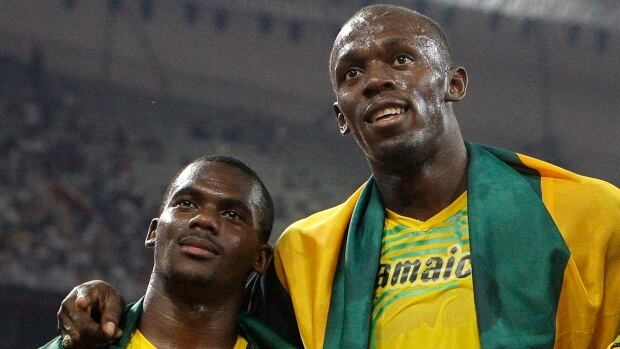 Nesta Carter, left, has launched an appeal of a doping ban that cost he and his teammates, including Usain Bolt, right, Olympic gold in the 4x100-metre relay at Beijing 2008.