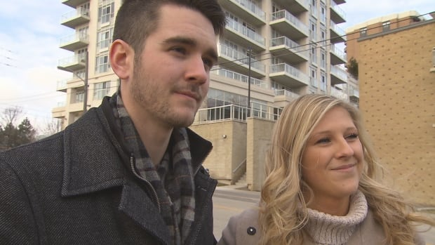 Ryan Young, 23, and Nina Tesan, 22, were denied a Toronto apartment because of their age. They're taking their case to the Ontario Human Rights Tribunal.