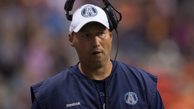 Scott Milanovich had a 43-47 record in five seasons as head coach of the Toronto Argonauts.