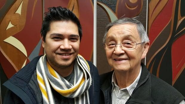 Alejandro Yoshizawa and Larry Grant