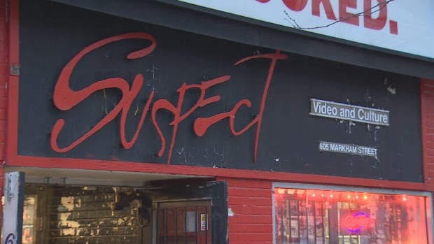 Suspect Video and Culture, attached to Honest Ed's, was in business for 25 years.