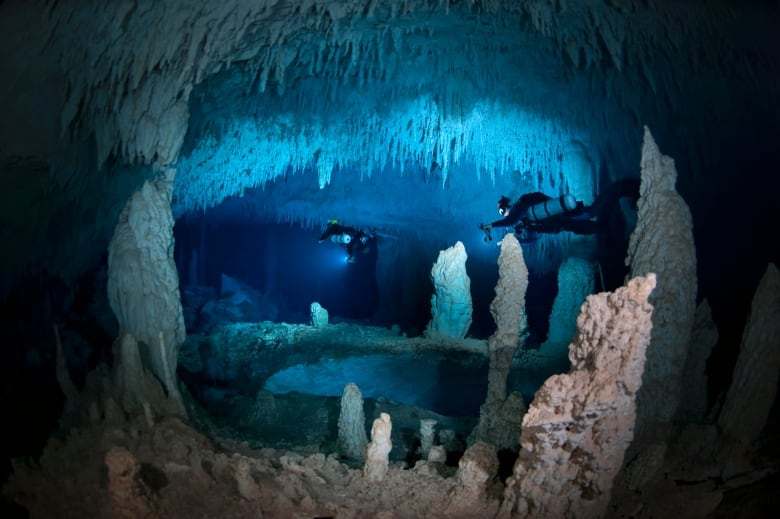 How top cave diver Jill Heinerth keeps calm under pressure