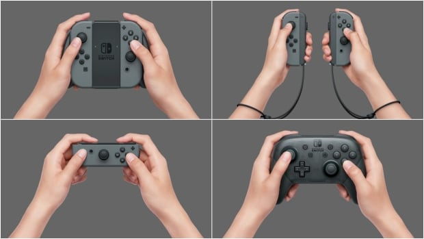 Nintendo Switch Control Options