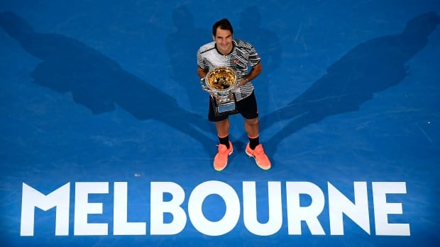 Roger Federer has won his 18th Grand Slam title and put some extra distance on the all-time list between himself and Rafael Nadal, the man he beat 6-4, 3-6, 6-1, 3-6, 6-3 in a vintage Australian Open final on Sunday.