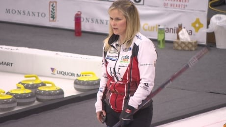 Jennifer Jones was tossed from the Manitoba Scotties Tournament of Hearts Jan. 29, 2017.