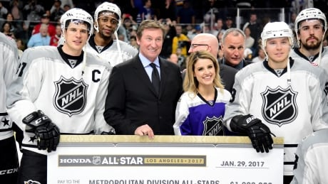 Simmonds, Gretzky Engineer All-Star Game Win For Metropolitan