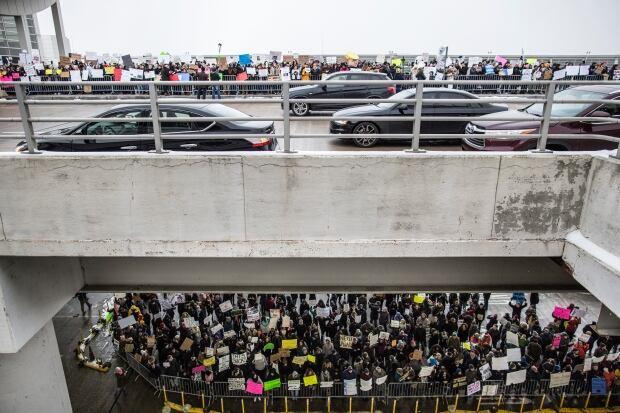 Trump Travel Ban Detroit