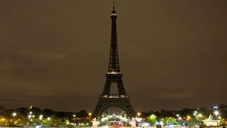 Paris Eiffel Towel dark