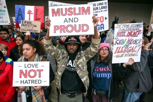 Trump Travel Ban Atlanta — Jan. 29, 2017