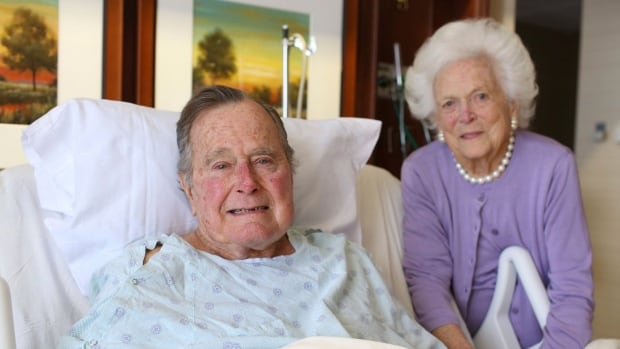 Going home: Former President George HW Bush released from hospital