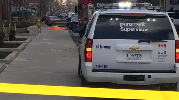 One dead in shooting near Toronto's George Brown College