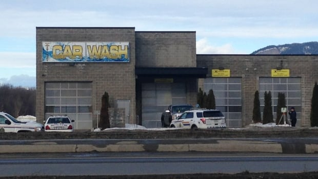 The IIO has confirmed a man was shot in a police-involved shooting at this Salmon Arm car wash early Monday.