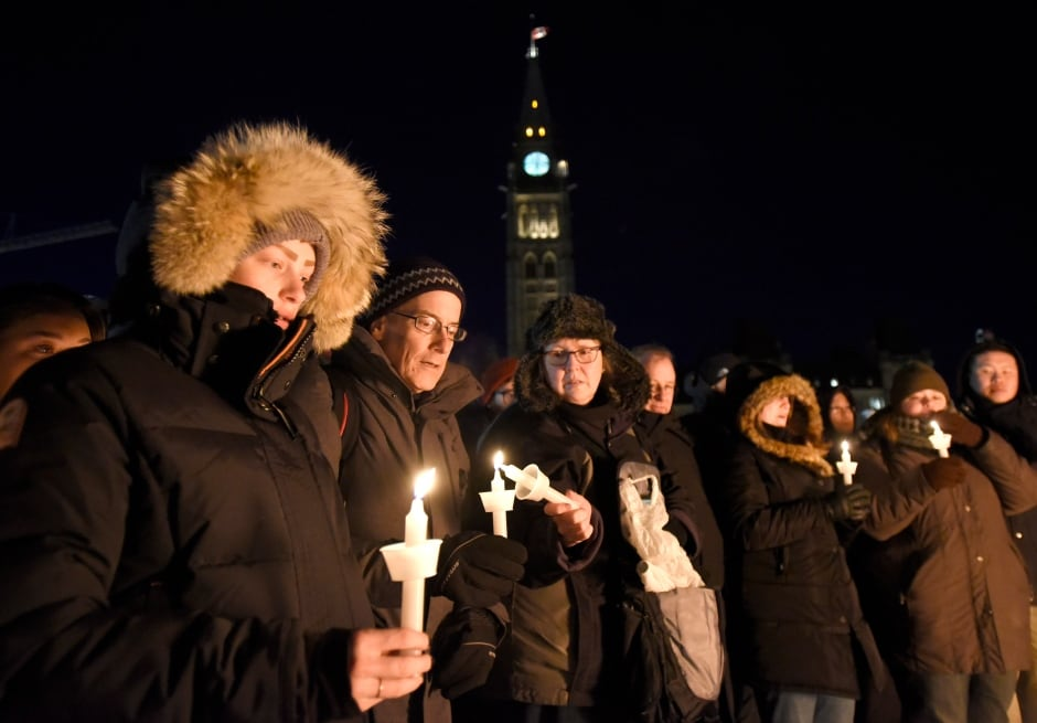 Quebec City Mosque Vigil 20170130