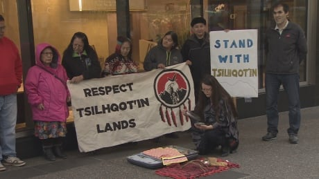 Tsilhqot'in Nation seeking court injunction against drilling permit