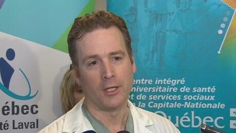 Dr. Julien Clement Trauma department of CHU de Quebec