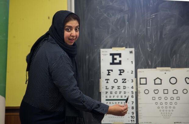 Nabila Khalid, intern