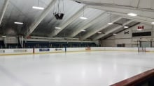 Whitney Pier Rink ice surface