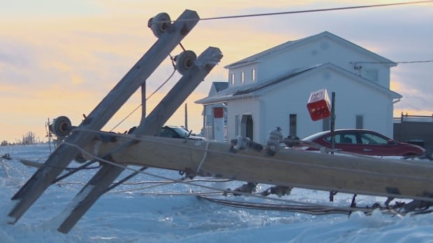 NB Power says the amount of ice that coated its equipment in the ice storm was four times thicker that the Canadian Standards Association design standard.