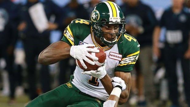 The Eskimos have signed slotback to a one-year extension that keeps him under contract through 2018. The three-time CFL all-star set a team record with 120 catches last season for a league-best 1,759 yards.