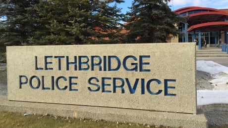 Lethbridge police service sign stocks stox