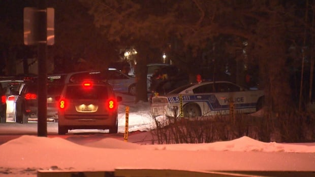 The man was arrested at a home on de Shediac Street in Kirkland overnight.