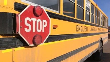 School bus PEI side