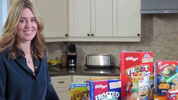 Monique Potvin Kent and food products marketed to children