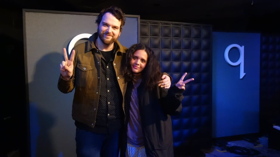 Artist Lido Pimienta joined host Tom Power in the q studios in Toronto, Ont.