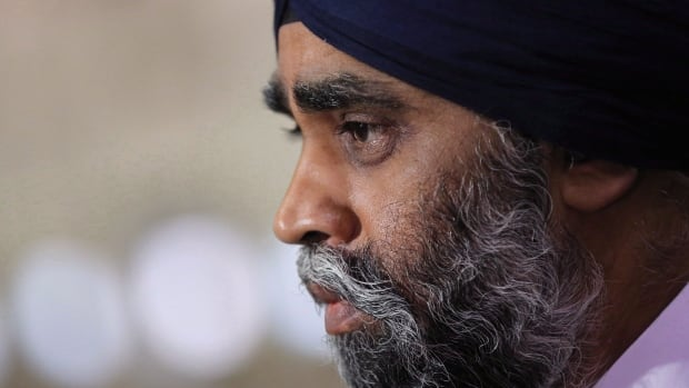 Defence Minister Harjit Sajjan says the defence policy review he will release on June 7 will include a tax exemption for military and police members serving overseas.