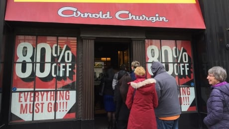 Arnold Churgin Shoes closes after 53 years in Calgary