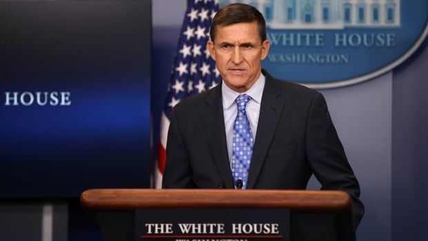In his first appearance in the White House press briefing room, national security adviser Gen. Michael Flynn told reporters, 'As of today, we are officially putting Iran on notice.'