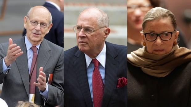 Breyer, Kennedy, Ginsburg