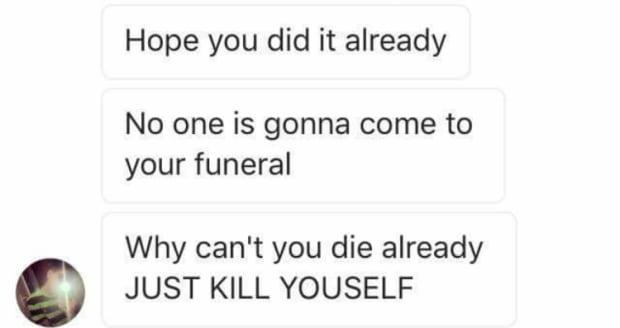 social media suicide