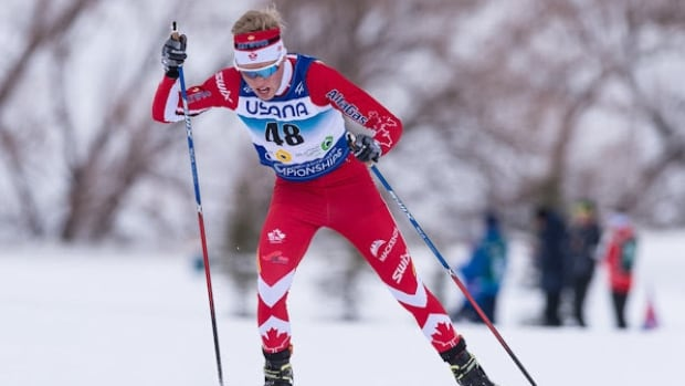 19-year-old Gareth Williams competed on Wednesday at the Nordic Junior World Championships in Park City, Utah.