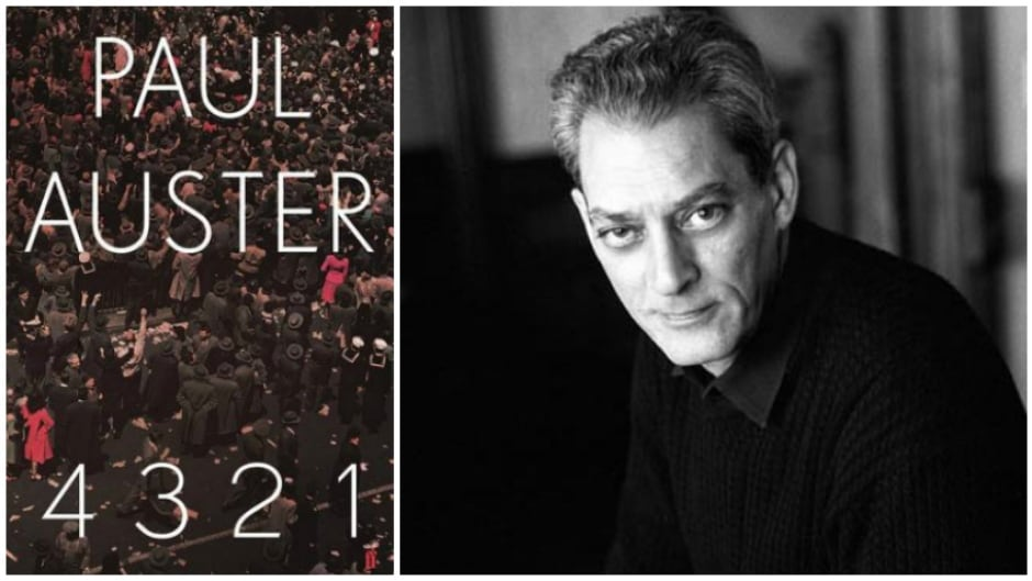 """Paul Auster's new book is the epic 866-page """"4321""""."""